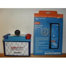Batteripaket 6Ah med laddare