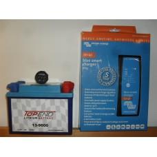 Batteripaket 9Ah med laddare